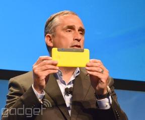 Intel RealSense smartphone
