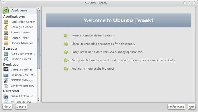 Ubuntu Tweak 0.5.0