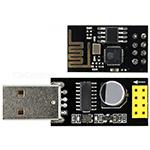 ESP01 met USB-adapter