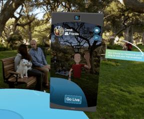 Facebook Spaces voor Oculus Rift met live video