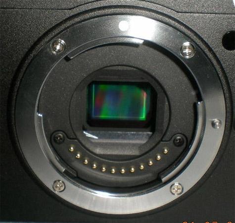 Nikon ilc lensmount beeldsensor