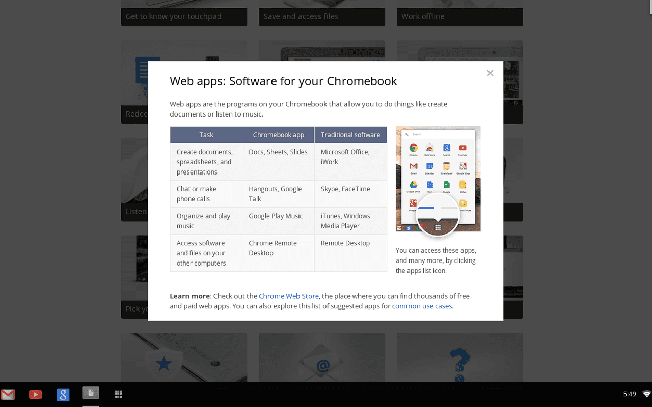 the samsung chromebook info
