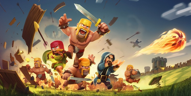 Clash of Clans, Android, IOS