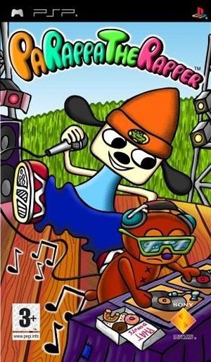 Packshot voor PaRappa The Rapper