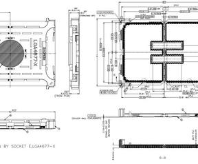 Nieuwe lga4677-socket voor Xeon-processors