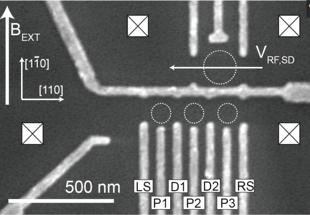 quantum dots elektronen single spin ccd