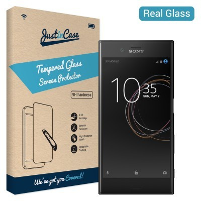 Just in Case Tempered Glass Sony Xperia XZs - Arc Edge