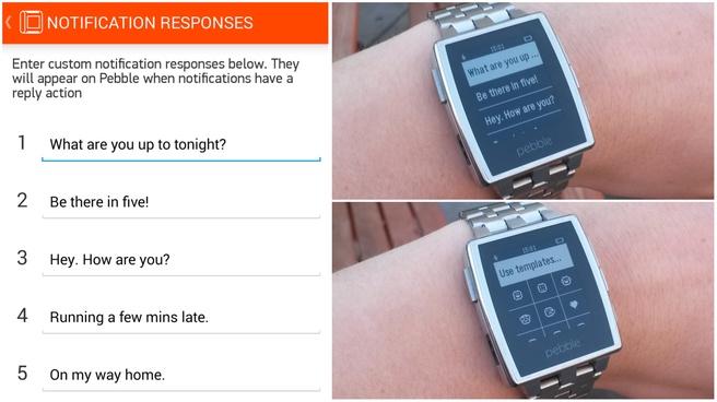 Android Wear-notificaties op Pebble