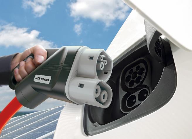 Elektrisch laden auto