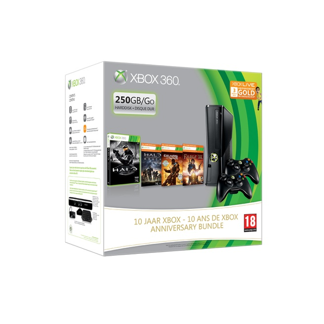 Xbox 10 Jaar Anniversary Pack