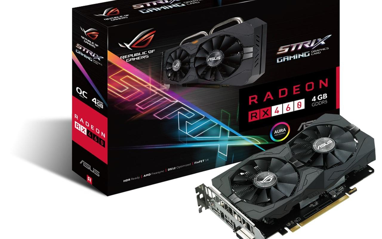 AMD Radeon RX 460-videokaarten