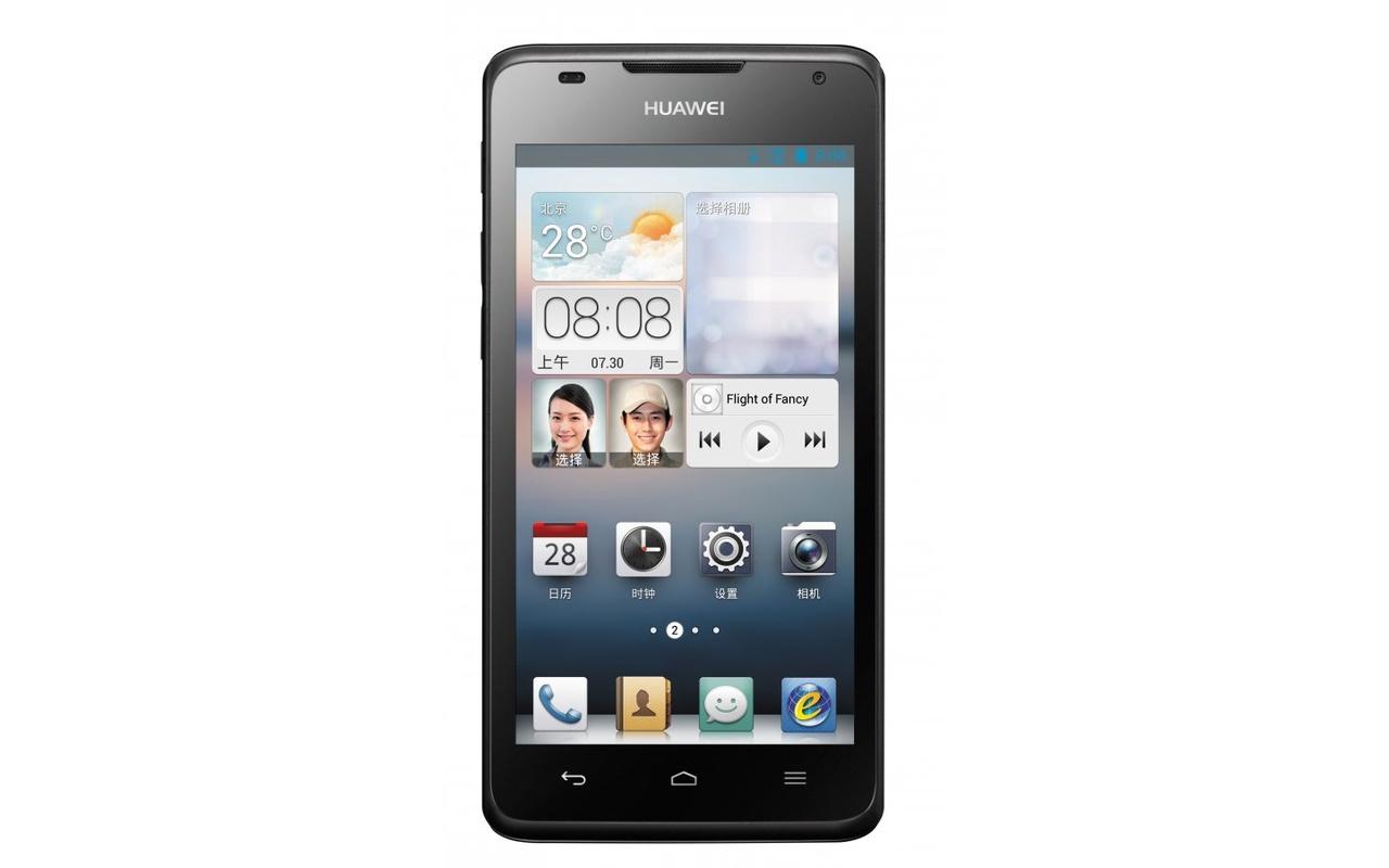 Huawei Ascend G510 Zwart - Specificaties - Tweakers