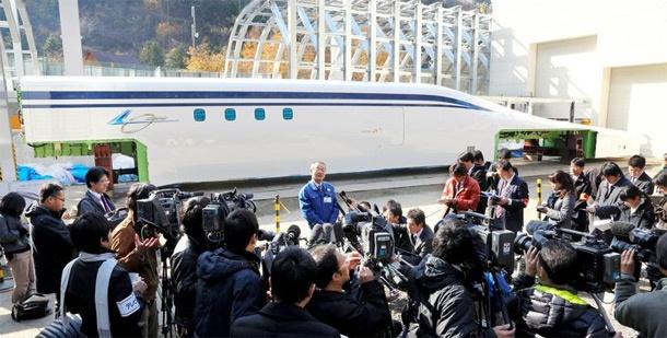 Japan zweeftrein 500km/uur Tokai