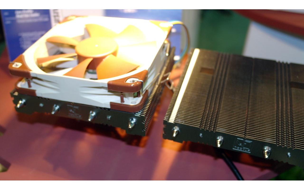 Noctua prototype Low Profile-koeler