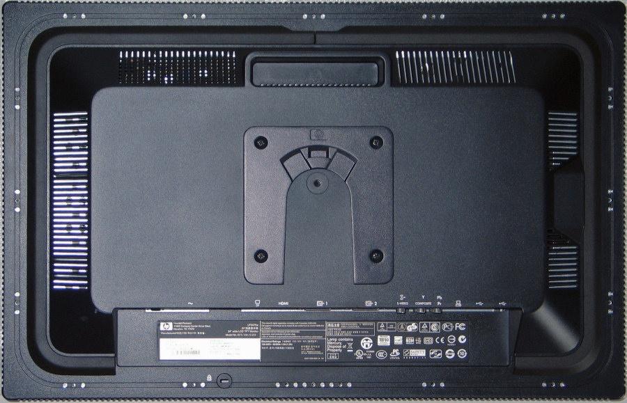 """""""Achterkant van de HP LP2475w"""""""