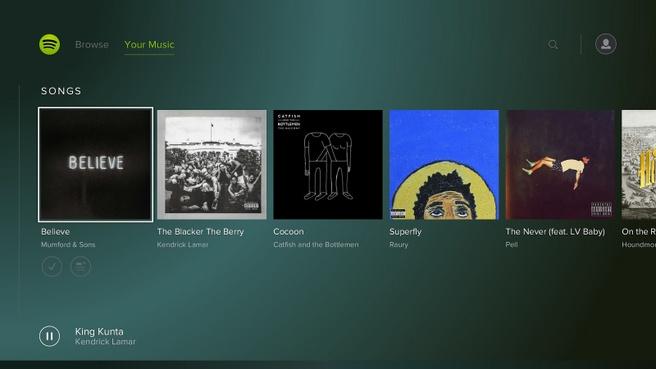 spotify sony music