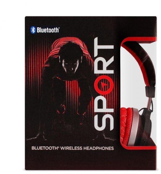 Roam Headphones Sport Bluetooth One-Ear (Rood, Zwart)