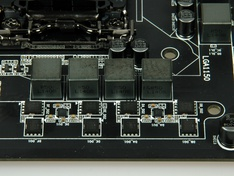 Detail CPU VRM boven