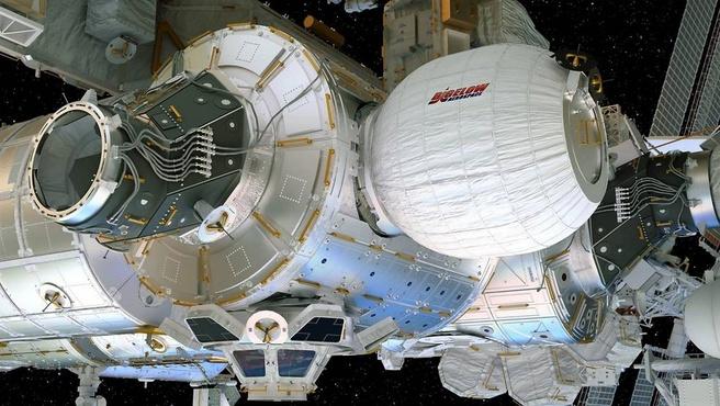 BEAM-module op ISS