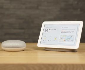 Google Home Hub uiterlijk