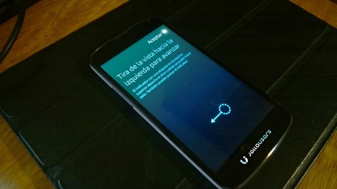 Sailfish OS op Nexus 4