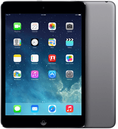 Apple iPad Mini Retina WiFi + Cellular 16GB Grijs