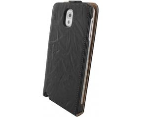 Mobiparts Mobiparts Vintage Flip Case Samsung Galaxy Note 3 Black