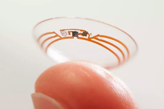 Verily glucose contactlens