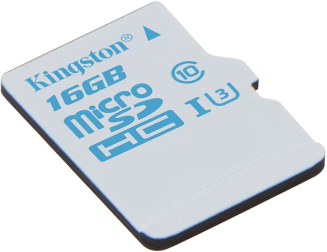 Kingston microSD Action Camera UHS-I U3 16GB