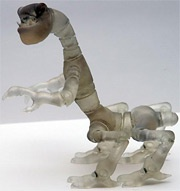 Bewegend 3d-model Spore
