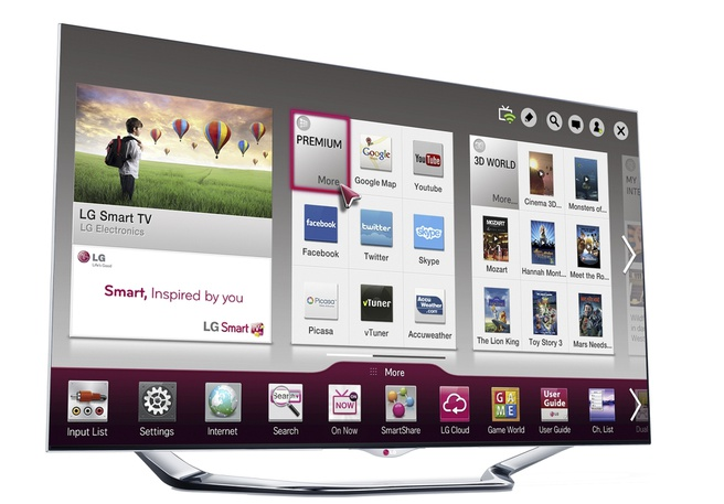 LG Smart TV 2013