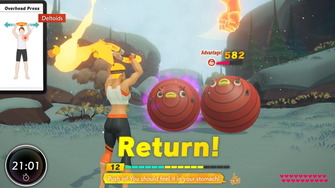 Ring Fit Adventure - Game