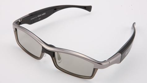 LG Alain Milki 3d-bril metaal