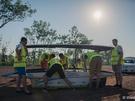 Punch Powertrain Solar Team voorbereidingen in Australië