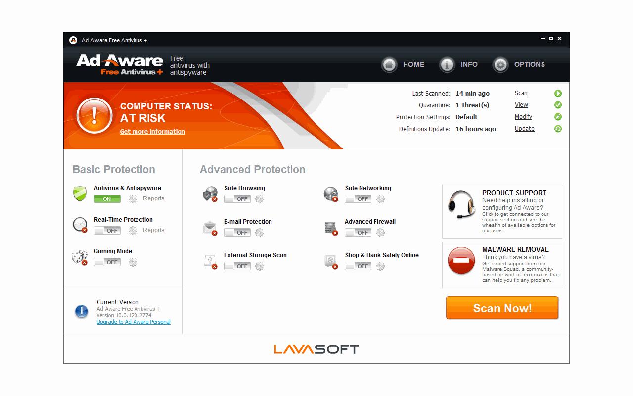 Ad-Aware 10 screenshot