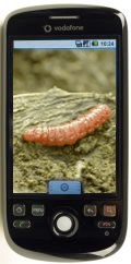 HTC Magic met Mariposa-worm