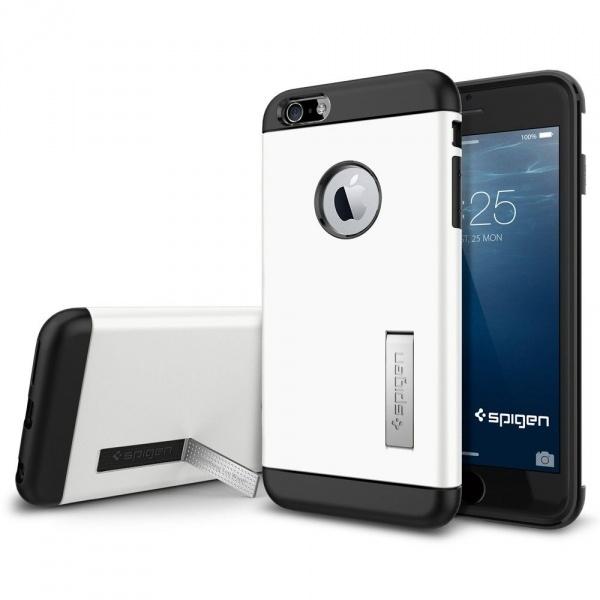 Spigen Case Slim Armor Apple iPhone 6 Plus SGP10903 (Shimmery White) voor iPhone 6 plus
