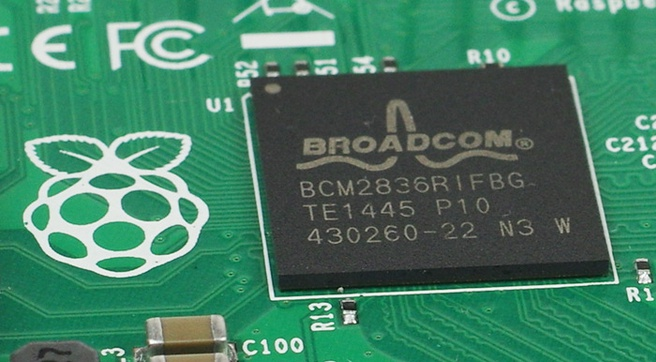 Broadcom Pi-chip
