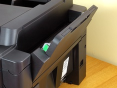 Multifunctionele papiertoevoer open 1