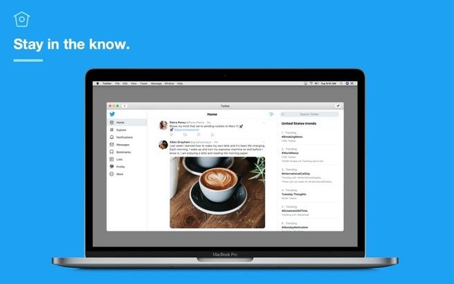 Twitter voor macOS