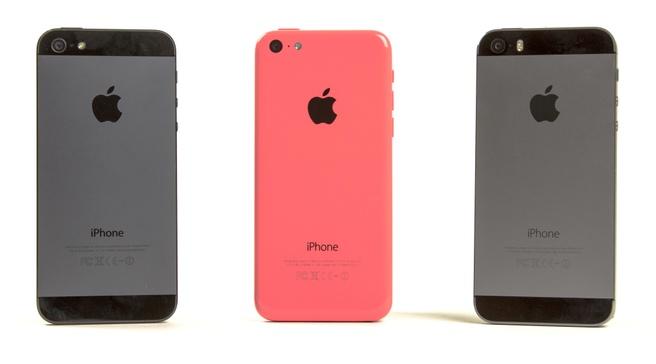 iPhone 5, 5c en 5s