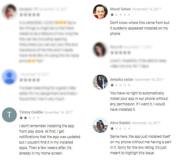 Reviews van Quik-app