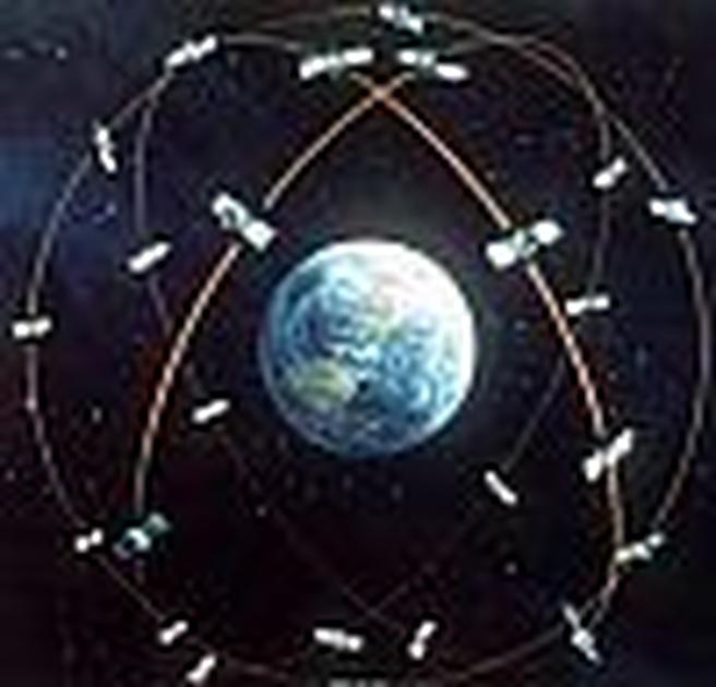 Gps-satellieten
