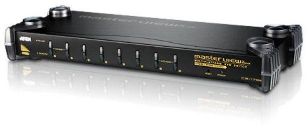 Aten CS-1758 KVM-Switch (8 Ports, VGA, USB, Audio)