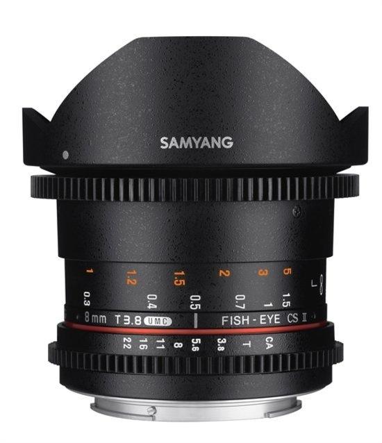 Samyang Optics 8mm T3.8 VDSLR UMC Fish-eye CS II (Sony E)