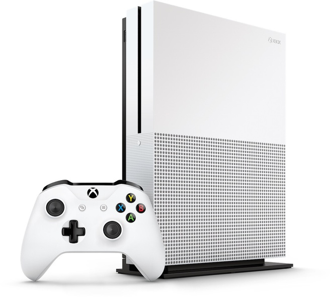 Microsoft Xbox One S Wit
