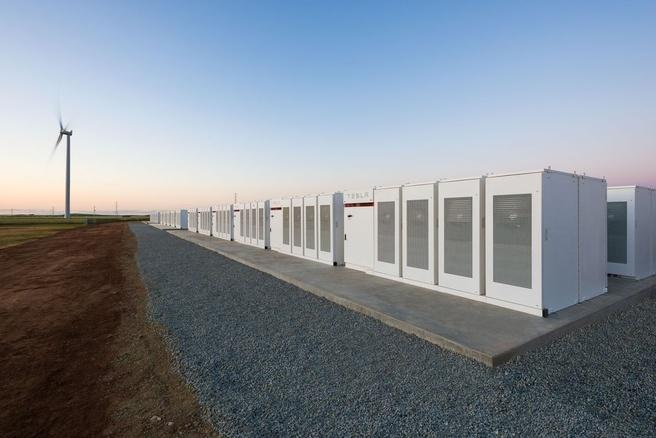 Tesla Powerpack Zuid-Australie