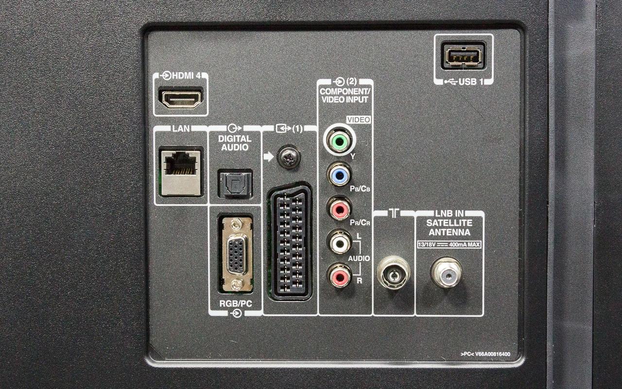 """Toshiba m7 47"""" tv review   uiterlijk en aansluitingen   tweakers"""