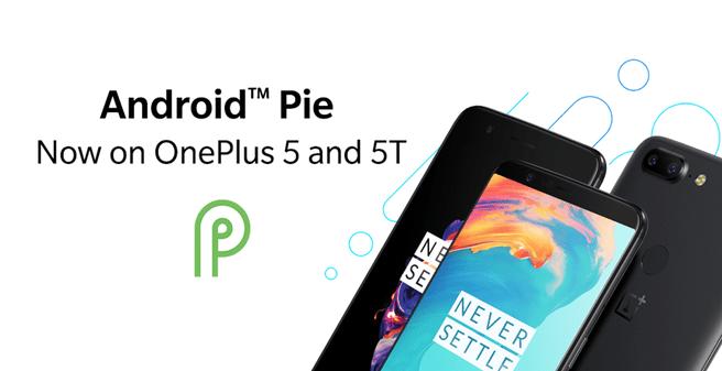Android 9 voor OnePlus 5 en 5T