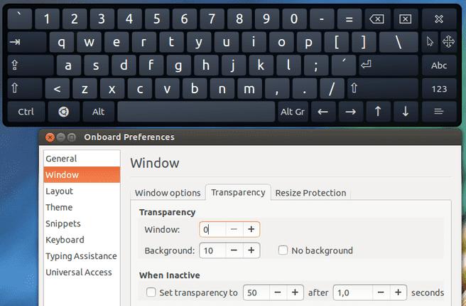Ubuntu 13.10: Onboard